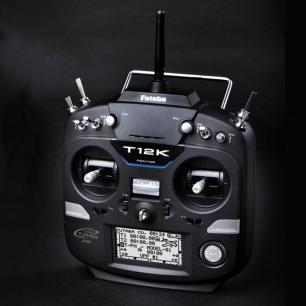 Radiocommande Futaba T 12K 2.4GHz avec récepteur R3008SB
