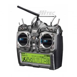 Radiocommande Aurora 9X Hitec avec Récepteur Maxima 6