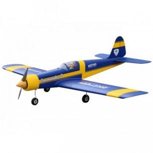 Avion Extron Commander 3 ARF COMBO - Bleu ou Rouge