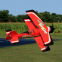 Avion PITTS 12 Rouge PNP de Dynam RC - Env: 1067 mm