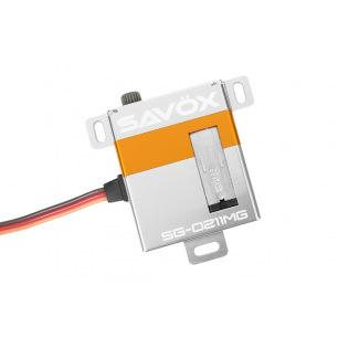 Servo digital Savox SG-0211MG plat pour aile de planeur