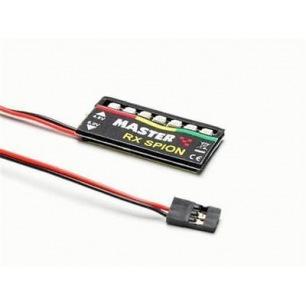 Lecteur de voltage embarqué pour les accus de réception NiMh ou NiCd