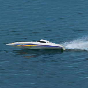 Bateau de course MINIMONO RTR Modèle Kit d'Aquacraft