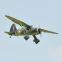 Avion Westland Lysander 33cc ARF Black Horse - Env : 254cm