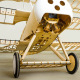 Avion Triplan Fokker Dr.1 de DWHobby - Env: 1540 mm