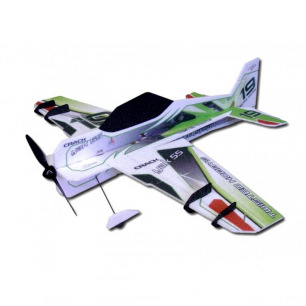 Avion CRACK YAK Superlite de RC Factory - Env: 80cm - LiPo 2-3S - Vert ou Orange