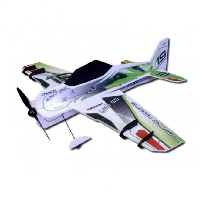 Avion indoor Crack Yak 55 de RC Factory - 0.80m - LiPo 2-3S
