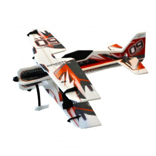 Avion indoor PITTS Backyard Series Rouge de RC Factory - Env: 755mm