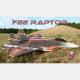Avion indoor F-22 Raptor de RC Factory - Env: 73cm