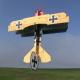 Avion indoor Lil Fokker de RC Factory - Env: 68cm - Couleur Yellow green