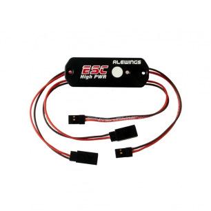 Interrupteur électronique magnétique avec ESC 15A - ALEWINGS