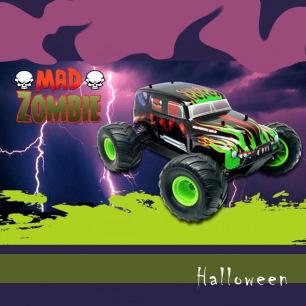Voiture Mad Zombie de MhdPro - Décoration Halloween et Tête de mort