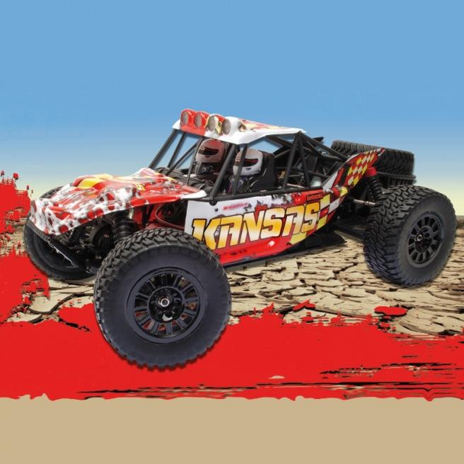 Voiture tout terrain KANSAS Desert Buggy RTR 1/8 - MHDPRO