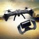 Drone LARK FPV RTF de UDI RC - Blanc ou Noir