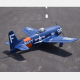 Avion F8F-2 Bearcat Navy Blue ARF Seagull Models