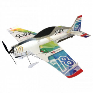Avion Indoor SLICK Superlite Rainbow de RC-Factory