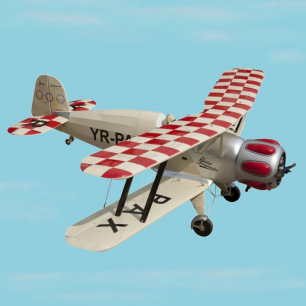 Avion biplan BUCKER BU 133 ARF Seagull Models