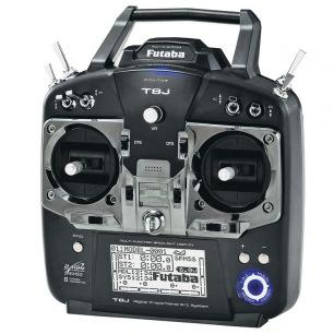 Radio Futaba 8J 2.4GHz S-FHSS S.BUS avec récepteur R2008SB