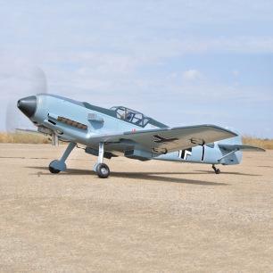 Messerschmitt ME Bf 109e3 55cc ARF Black Horse