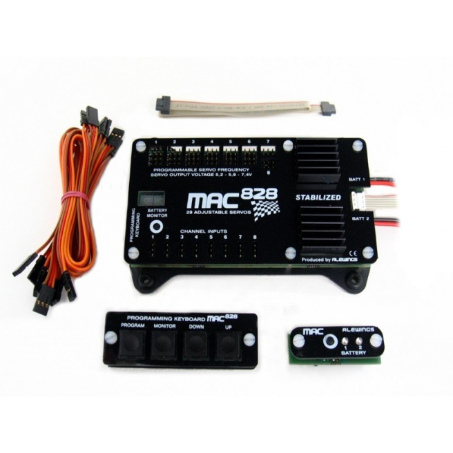 Centrale d'alimentation MAC828 Adjust de ALEWINGS