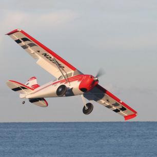 Avion Cessna 170 Super PNP Rouge avec AURA 8 - Premier Aircraft