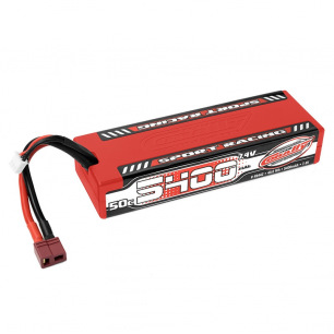 Accus LiPo 2S et 3S 5400mAh 50C Racing Sport Team Corally