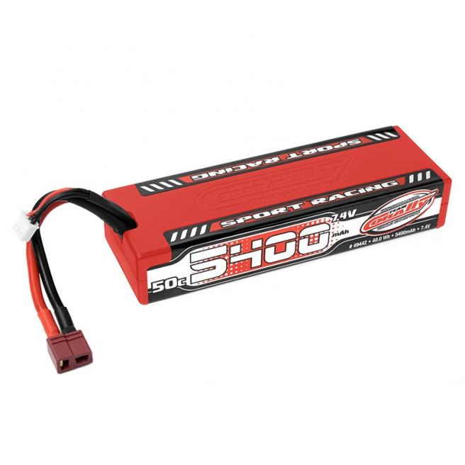 Accu LiPo 2S 5400mAh 50C Racing Sport Team Corally