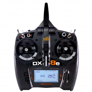 Radio SPEKTRUM DX8e - 8 canaux