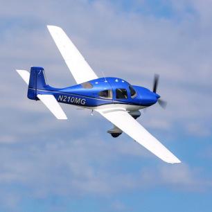 Avion Cirrus SR22T PNP de E-Flite - Env. 1.5m