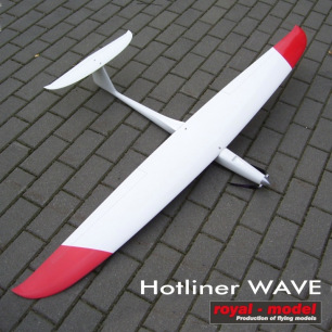 Planeur Hotliner WAVE 1700mm de Royal Model