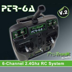 Radio PTR-6A V2 6 voies Pro-Tronik avec accu et récepteur ?