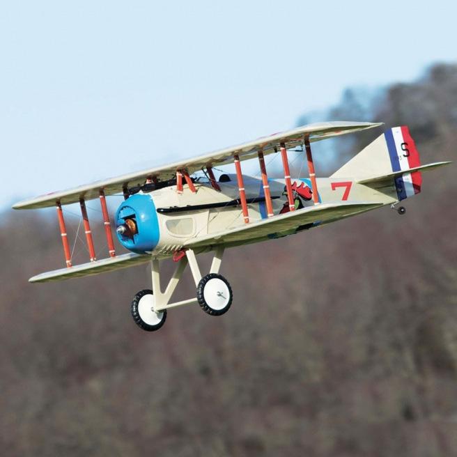 "Avion Biplan SPAD XIII 68"" ARF de Maxford USA"