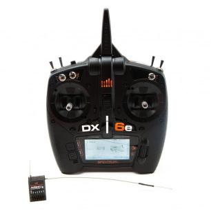 Radio SPEKTRUM DX6e - 6 voies - avec récepteur AR610