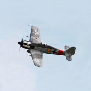 "Avion FW190-08 ""jaune"" 1400mm kit PNP - FMS"