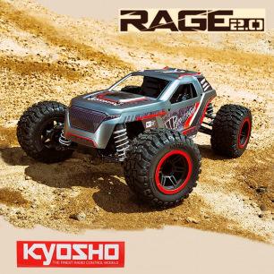 Buggy RAGE 2.0 FAZER MK2 1:10 4WD de Kyosho