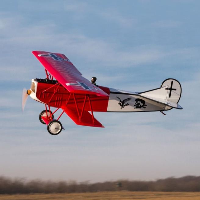 Avion FokkerD.VII 30-60cc de Hangar 9