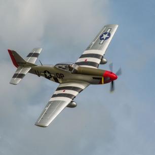 P-51 Mustang BNF Basic E-Flite - Env 1.20 m - LiPo 3S