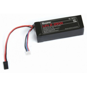Batterie LiFe 6.6 Volts 1600mAh - Graupner