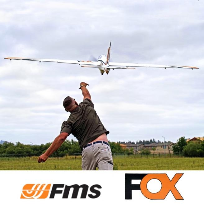 Planeur Fox PNP kit 3000mm - FMS