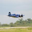 Avion Corsair 50 - 60cc ARF de Black Horse - 2310mm