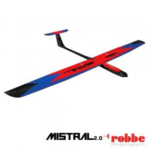 Planeur Mistral 2.0 PNP de Robbe - Env: 2000mm