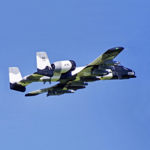 Jet Twin 70mm EDF A-10 V2 Camo PNP Free Reflex - FMS