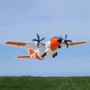 Avion cargo EC-1500 Twin 1.5m PNP d'E-Flite