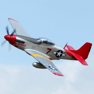 Avion Mustang P51 rouge PNP Kit 1.70m - FMS