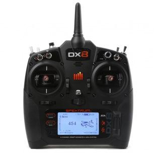 Radio SPEKTRUM DX8 sans récepteur - 8 canaux