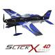 Avion Indoor Slick 360 Rouge ou Bleu - Multiplex