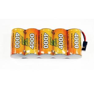Pack d'accus NiMh 6.0 V 4000mAh pour récepteur - A2Pro