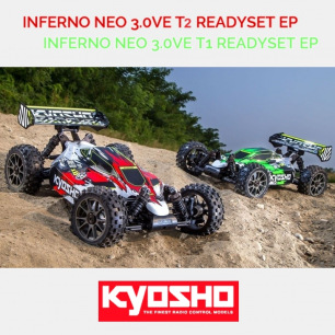 Buggy Inferno Neo 3.0 VE T1 Readyset de Kyosho