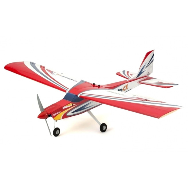 Avion Calmato Alpha 40 Trainer Toughlon Red Kyosho - Env.: 1.60m