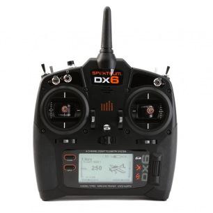 Radio SPEKTRUM DX6 G3 - 6 cannaux - avec récepteur AR6600T